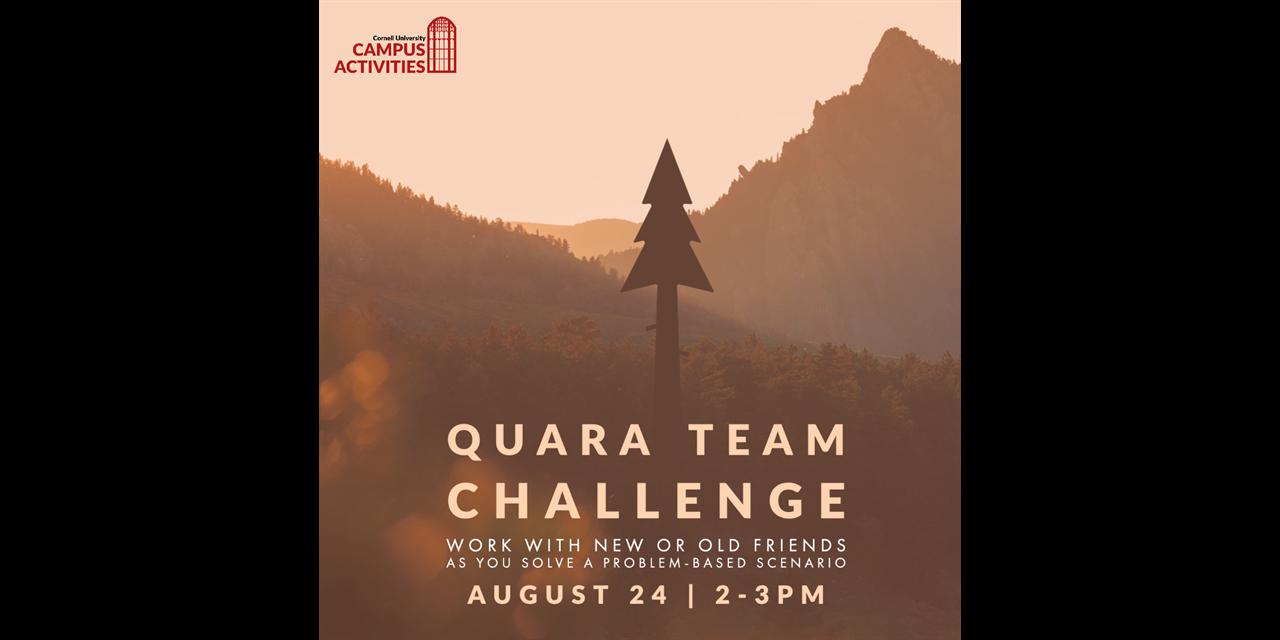 Q Week: Quara-Team Challenge
