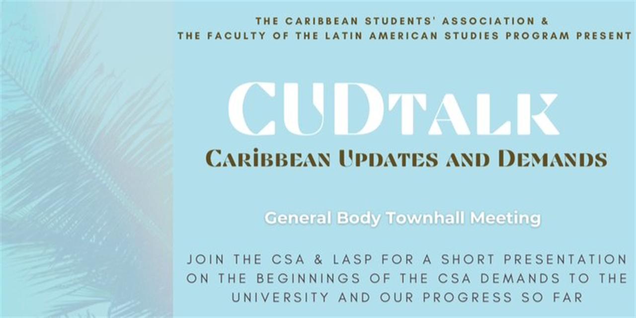 CSA X LASP Townhall Event Logo