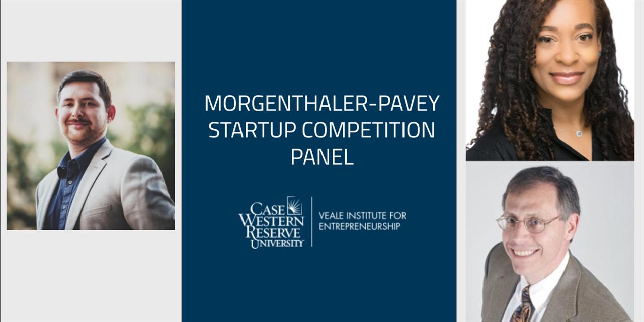 Morgenthaler-Pavey Startup Competition Panel Event Logo