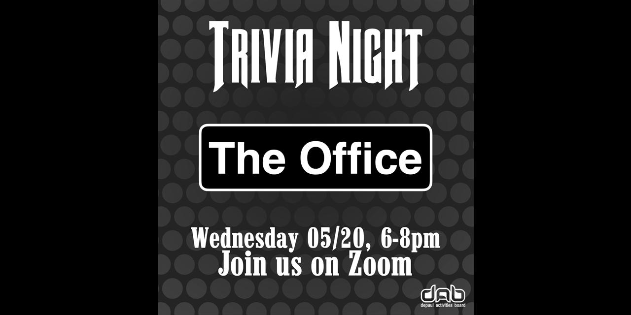Trivia Night: The Office Event Logo