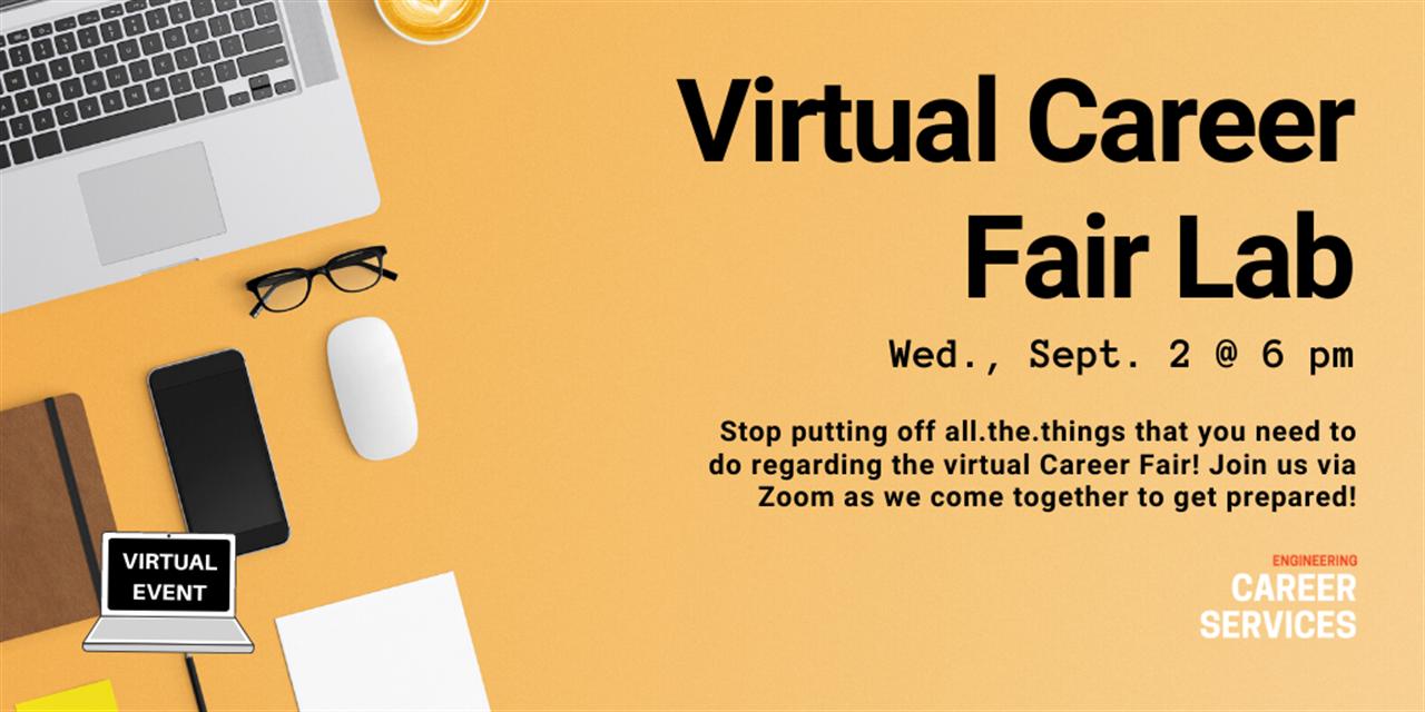 Virtual Career Fair Lab Event Logo