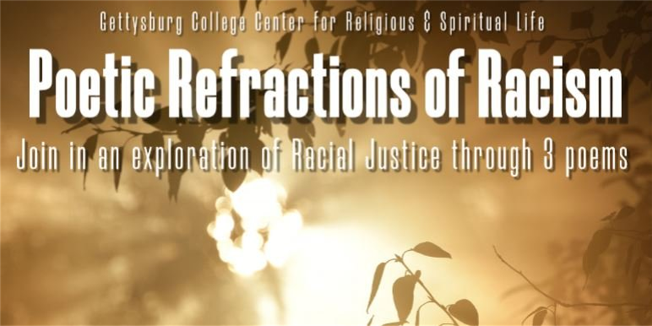 Poetic Refractions of Racism Event Logo