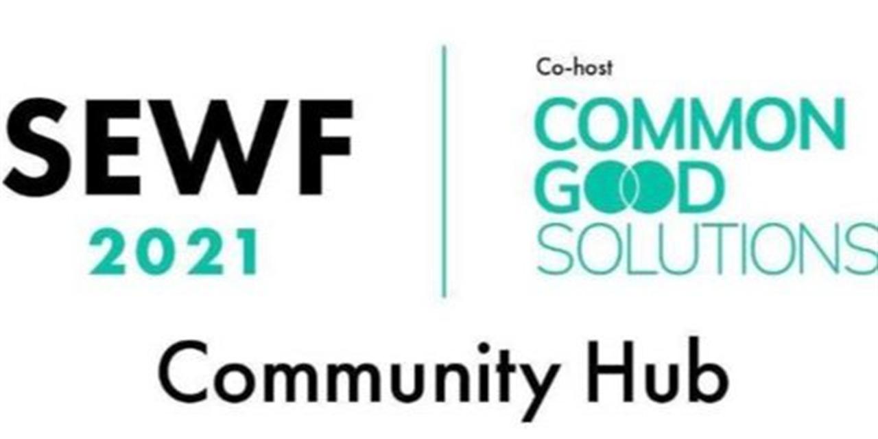 Social Enterprise World Forum 2021 Illinois Community Hub: Apply for Free Tickets by Sept 22 Event Logo
