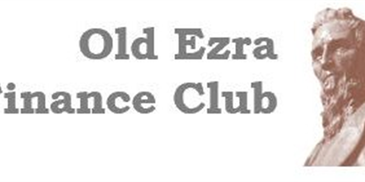 Old Ezra Finance Club Meeting #8 Event Logo