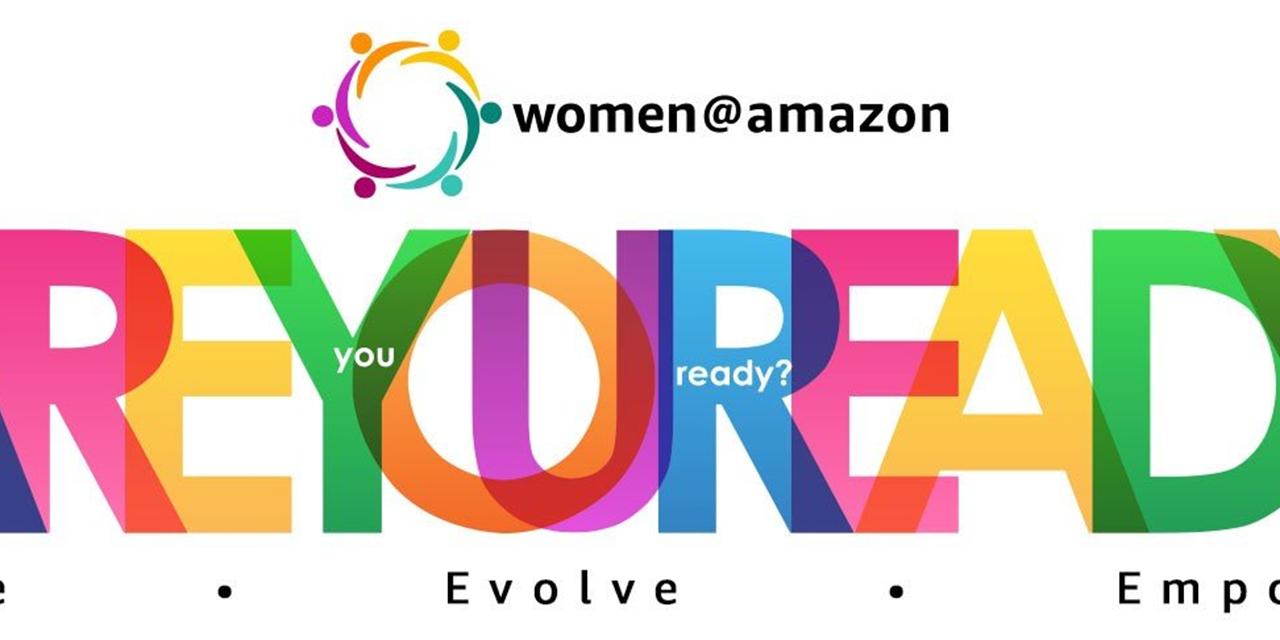 Women at Amazon | WMC x HTC Diversity Council Event Event Logo