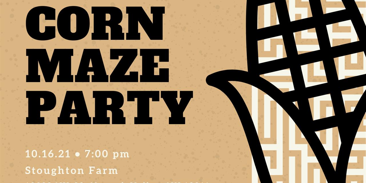 Corn Maze at Stoughton Farm Event Logo