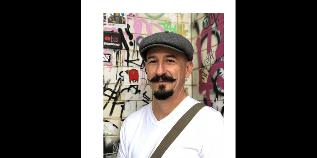 Buscando Futuro/Finding Future: Artist Hector Dionicio Mendoza in Conversation with Associate Professor of Latina/o Studies, David Hernandez Event Logo