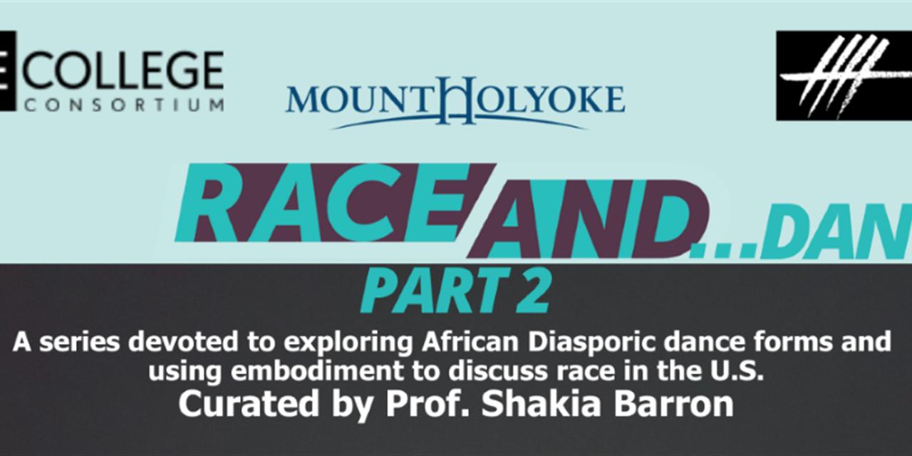 RACE AND...Dance, Part 2: Jazz with LaTasha Barnes Event Logo