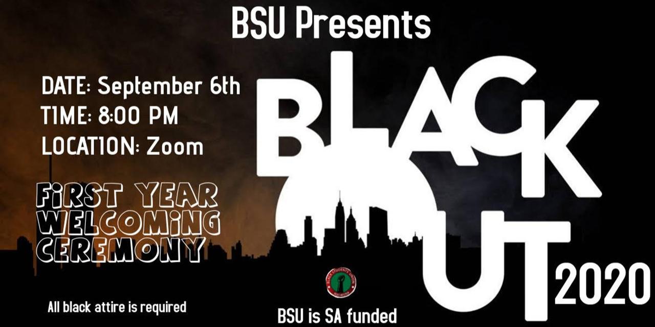 BlackOut Event Logo