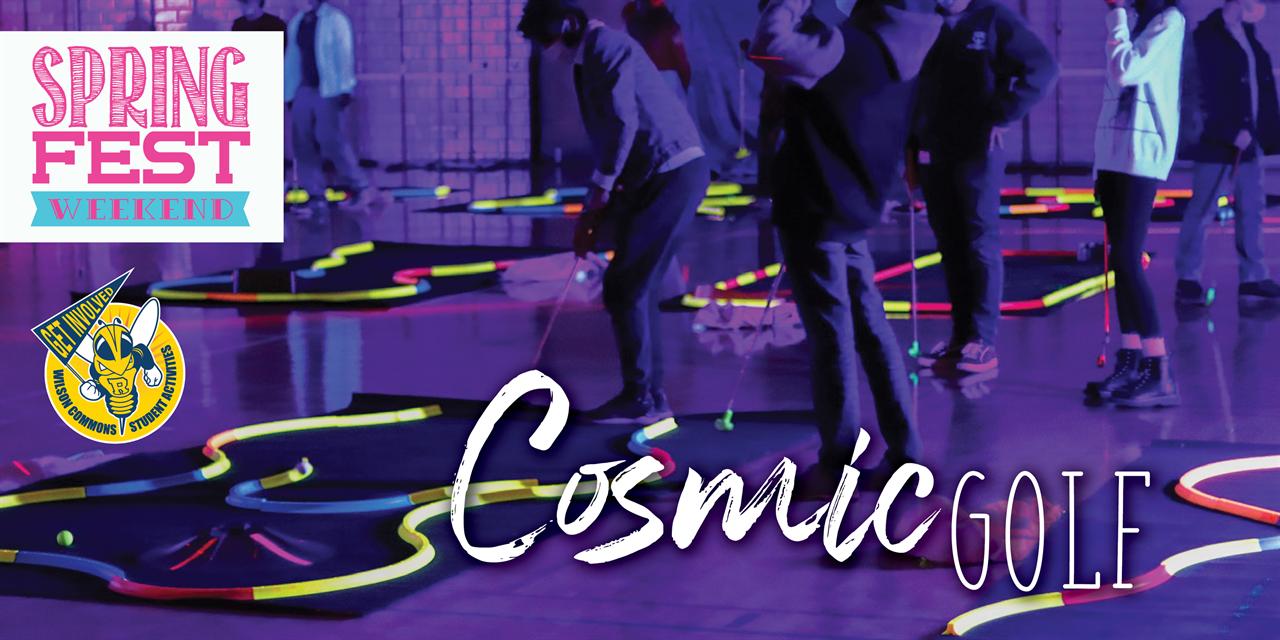 Cosmic Golf Event Logo