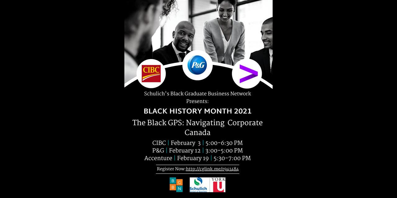 Black History Month Event Logo