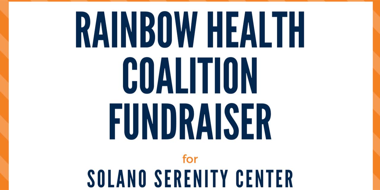Rainbow Health Coalition Fundraiser Spring 2021 Event Logo