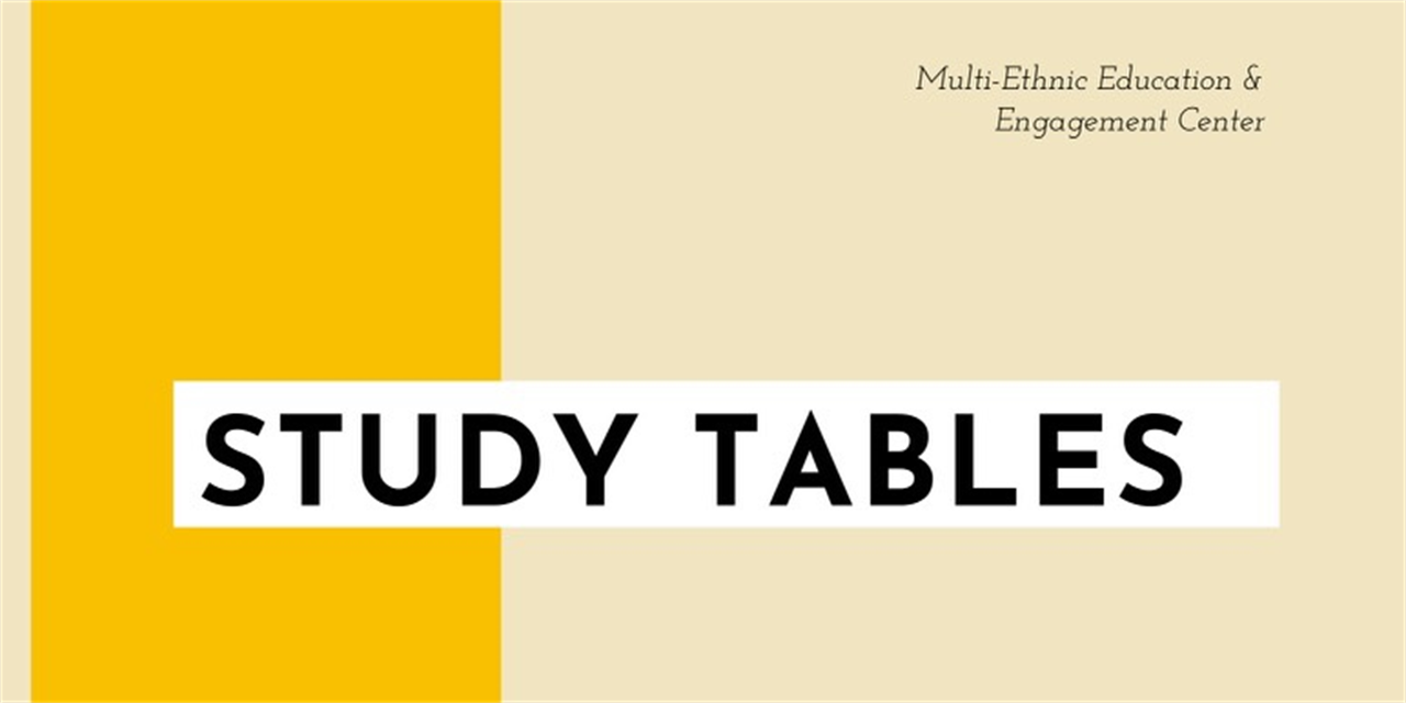 MEC Study Tables Event Logo