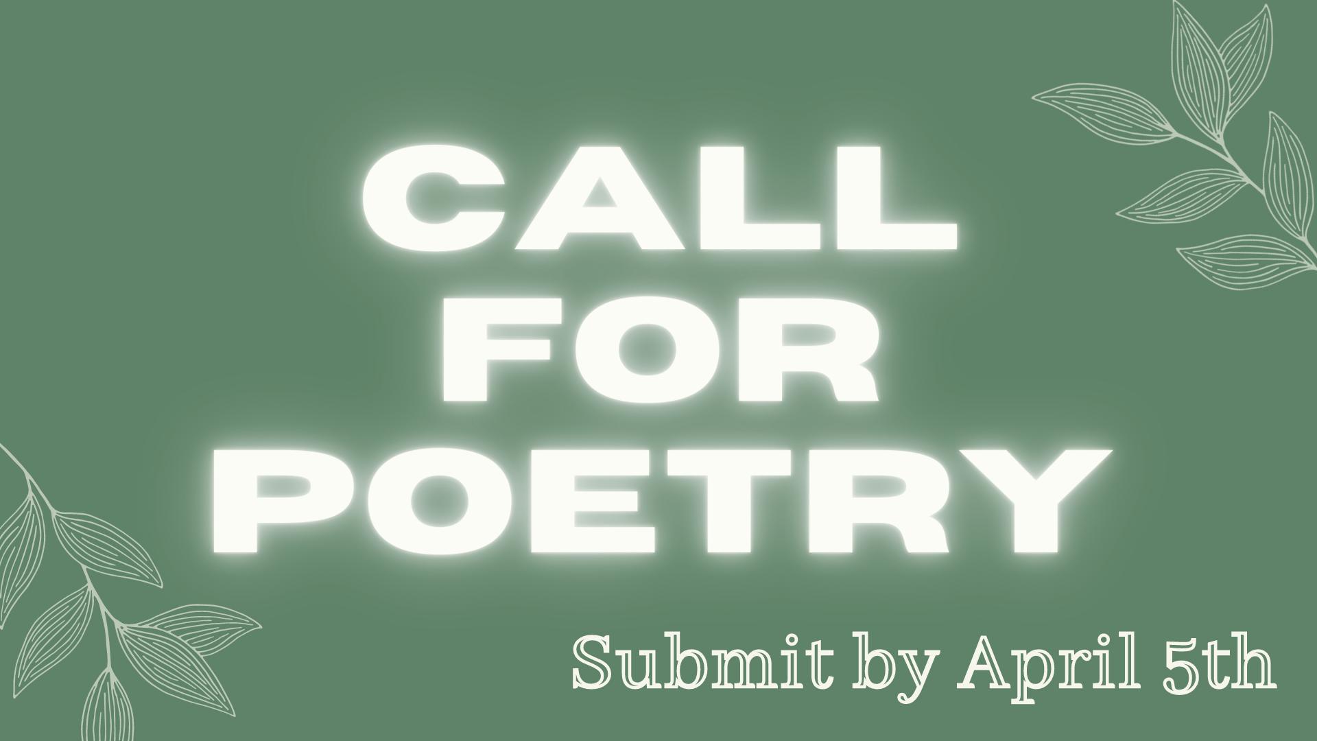 Monday Meet Up - Poetry