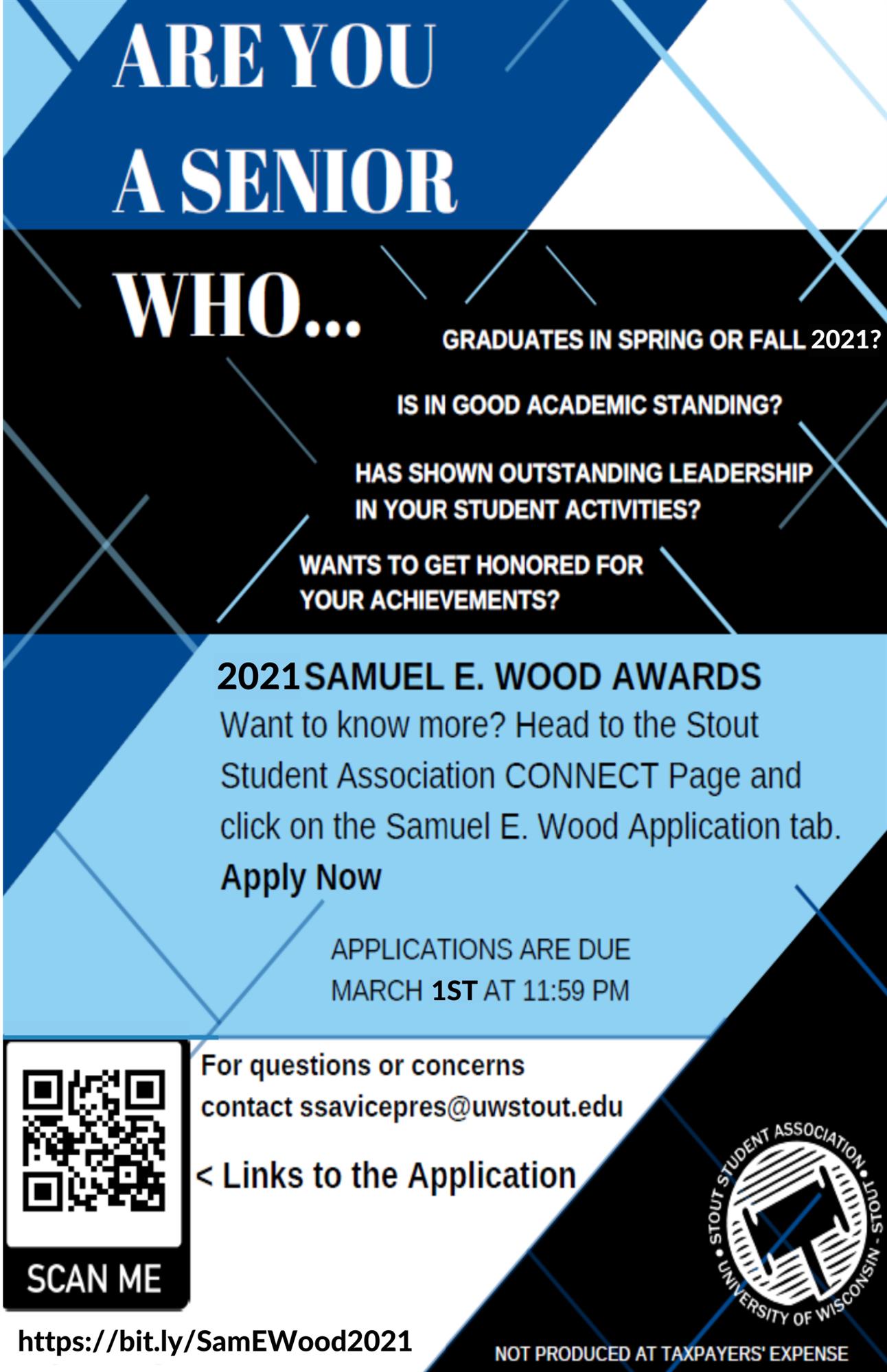 Samuel E Woods Awards