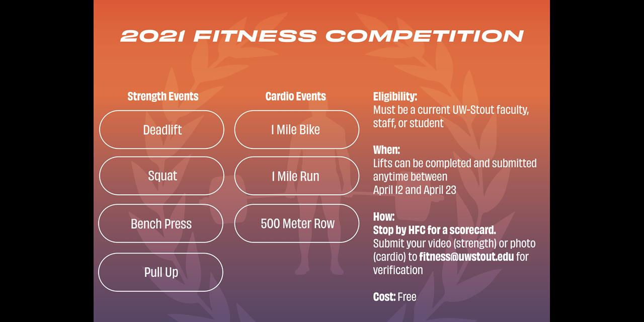 Urec Fitness Competition Event Logo