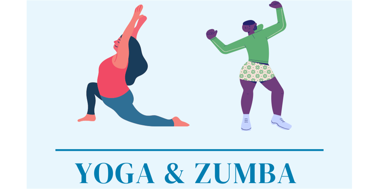 Monday Meet Up | Yoga and Zumba Event Logo