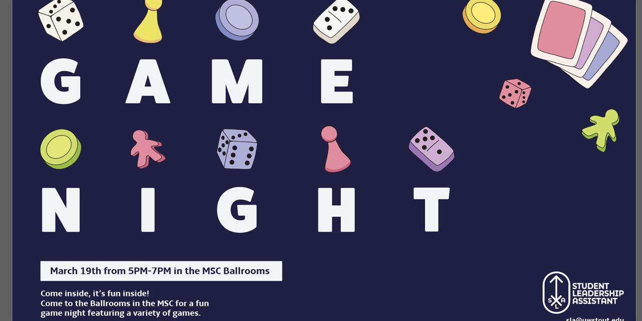 Game Night | SLA Event Logo