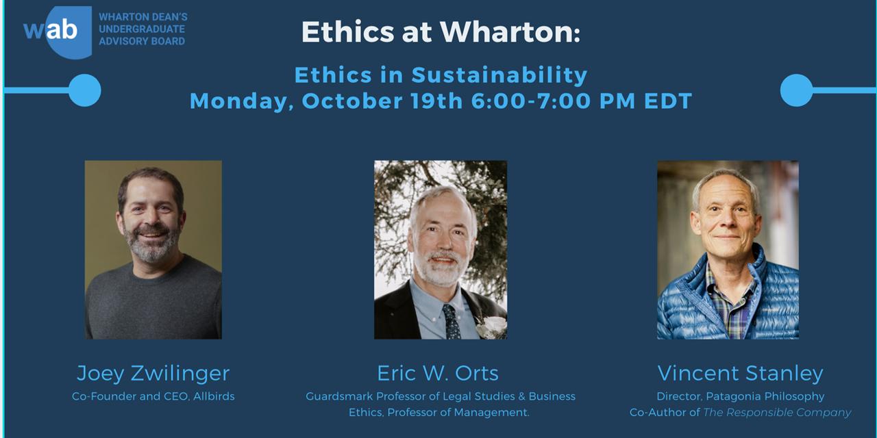 Ethics in Sustainability