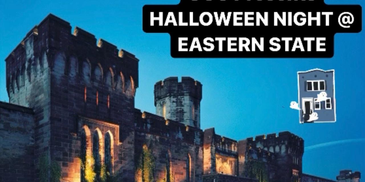 GCC Halloween @ Penitentiary Haunted Houses Event Logo