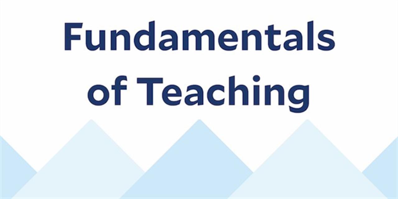 Fundamentals of Inclusive Teaching Event Logo