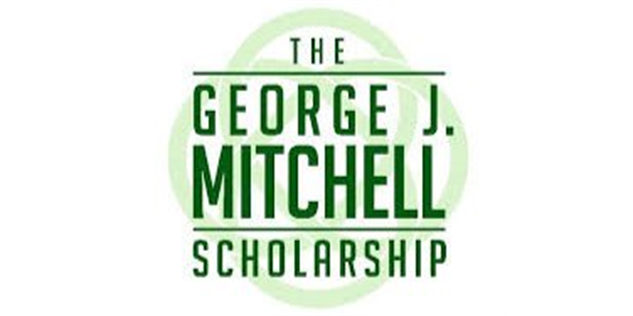 George J. Mitchell Scholarship Application Deadline Event Logo