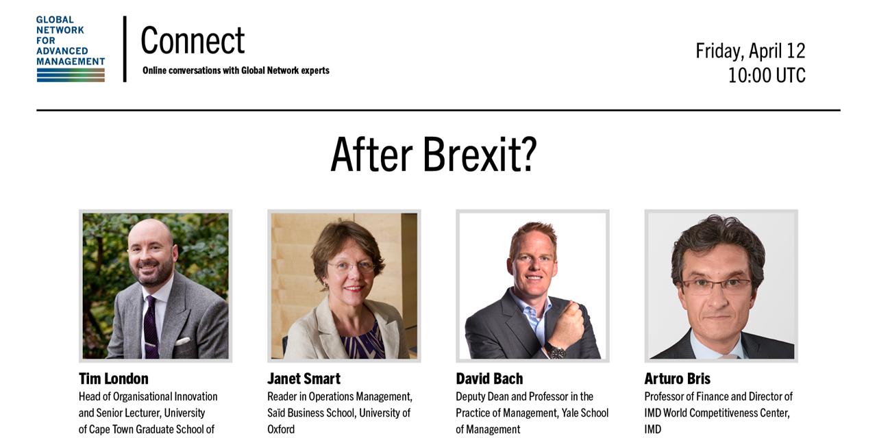 [WEBINAR] Global Network Connect: After Brexit? Event Logo